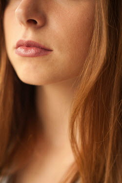 Valentino Sani Close up of lips of young woman