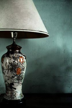 Maria Petkova Vintage lamp in shadow Miscellaneous Objects