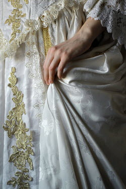 Michalina Wozniak Mid section of woman in vintage gown