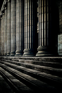 John Cooper Steps and columns in shadow