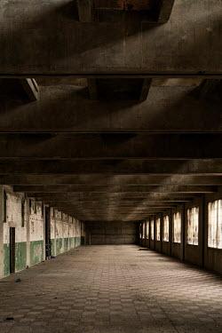 Colin Hutton INTERIOR OF EMPTY DERELICT BUILDING Interiors/Rooms