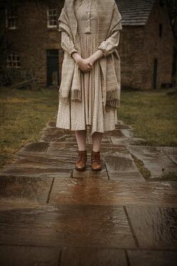 Shelley Richmond HISTORICAL WOMAN STANDING OUTSIDE BUILDING Women