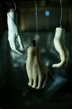 Colin Hutton MANNEQUIN HANDS HANGING FROM CEILING Miscellaneous Objects