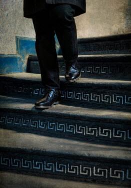 Jaroslaw Blaminsky LEGS OF MAN DESCENDING STAIRCASE Men