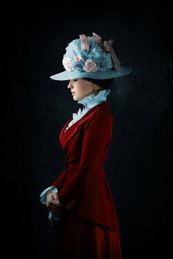 Ildiko Neer Young victorian woman in hat