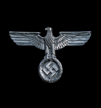 Stephen Mulcahey METAL EAGLE WITH GERMAN SWASTIKA SYMBOL Miscellaneous Objects