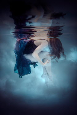 Rekha Garton Young woman underwater