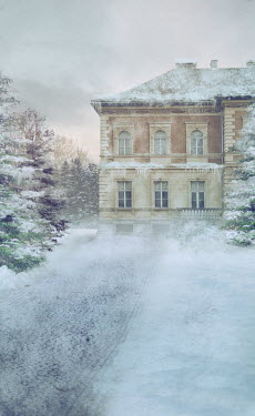 Drunaa Grand house  in winter