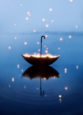 Ashraful Arefin FLOATING UMBRELLA CATCHING FALLING STARS Miscellaneous Objects