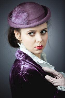 Magdalena Russocka elegant retro woman inside