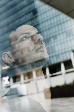 Giovan Battista D'Achille Young man behind window
