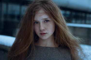 Irina Orwald Teenage girl in winter