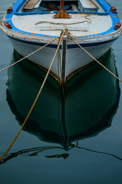 Jaroslaw Blaminsky Boat and reflection in water