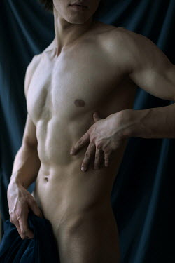 Dmitriy Bilous Torso of nude muscular man