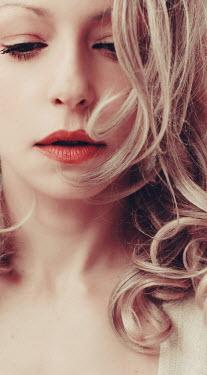 Irene Lamprakou Young woman with lipstick