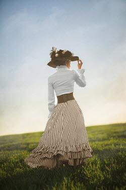 Ildiko Neer Historical woman standing in field