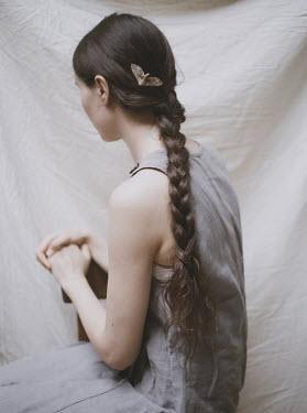 Michalina Wozniak GIRL WITH PLAIT AND MOTH IN HAIR Women