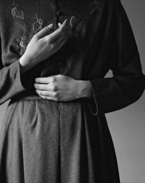 Michalina Wozniak CLOSE UP OF FEMALE HANDS AND DRESS Women