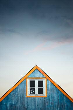 Evelina Kremsdorf BROKEN ATTIC WINDOW WITH ROOF OF HOUSE Houses