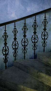 Jaroslaw Blaminsky DECORATIVE STONE AND METAL STAIRCASE Stairs/Steps