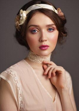 Alexey Kazantsev Portrait of young woman in headband
