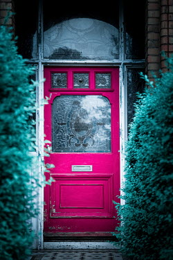 Magdalena Russocka pink door to old house