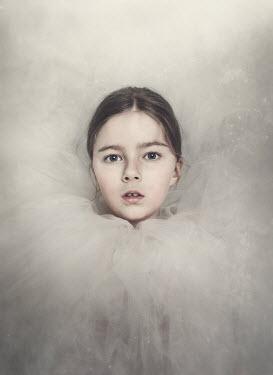 Anna Buczek Girl in white tulle