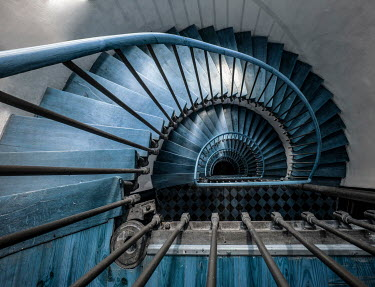 Jaroslaw Blaminsky Staircase from above