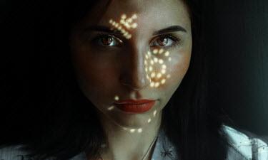 Kirill Sakryukin Young woman in dappled light