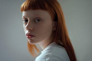 Ulyana Naydenkova SAD GIRL WITH RED HAIR AND FRINGE Women