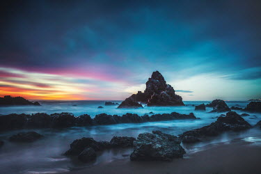 Evelina Kremsdorf Camel Rock at sunset in Bermagui, Australia