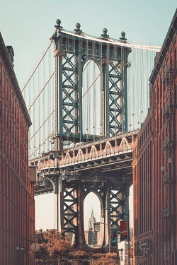 Evelina Kremsdorf Manhattan Bridge in Brooklyn, New York