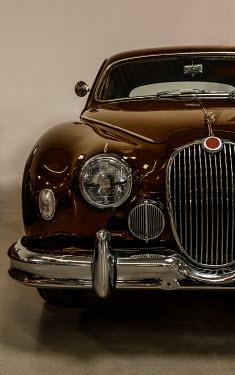 Jaroslaw Blaminsky Brown vintage car