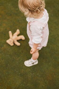 Shelley Richmond Toddler with teddy bear