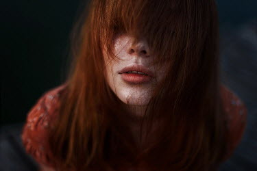Ulyana Naydenkova Young woman with red hair