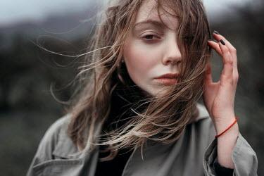 Ulyana Naydenkova Young woman in wind