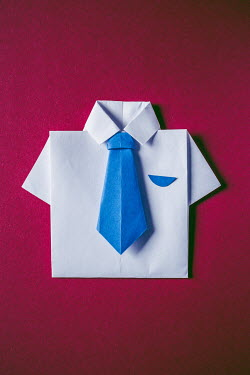 Marie Carr FOLDED PAPER SHIRT AND TIE Miscellaneous Objects