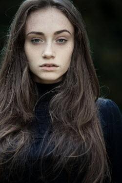 Magdalena Russocka young woman staring