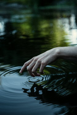 Magdalena Russocka womans hand in water