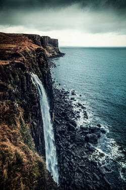 Evelina Kremsdorf Kilt Rock and Mealt Waterfall. Isle of Skye, Scotland, UK.