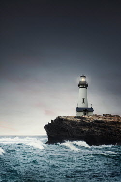 Evelina Kremsdorf Lighthouse by sea