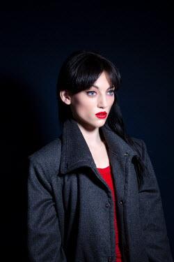 Miguel Sobreira Woman in Grey Coat