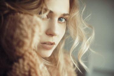 Nina Masic Young woman with wavy hair