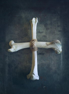 Mark Owen BONES TIED IN CROSS WITH STRING Miscellaneous Objects