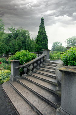 ILINA SIMEONOVA Stone steps in garden