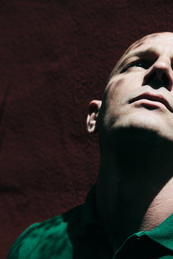 Giovan Battista D'Achille Bald man in shadow