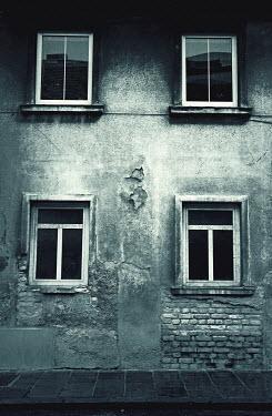 Irene Lamprakou Weathered apartment building