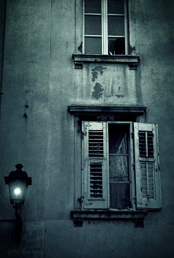 Irene Lamprakou Weathered apartment building
