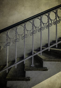 Jaroslaw Blaminsky IRON AND STONE STAIRCASE Stairs/Steps
