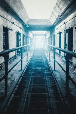 Evelina Kremsdorf Corridor in abandoned prison